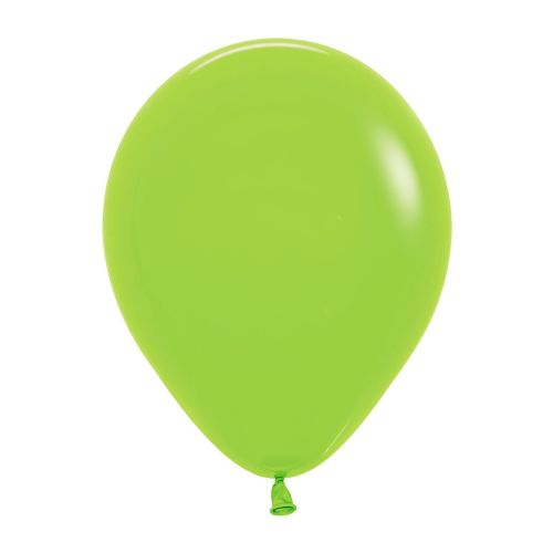 "Neon Solid Green 230 Latex Balloons 5""/13cm - 100 PC"